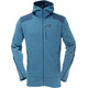 Norrøna M's Tamok Warm/Wool2 Zip Hood Beyond Blue